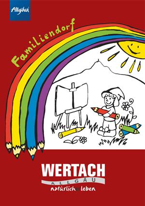 Malbuch Familiendorf Wertach