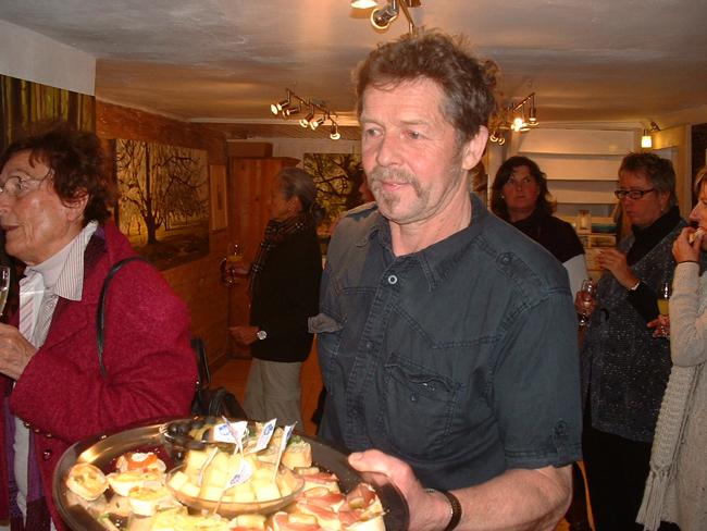 2011 Ausstellung Bichel 21, Gastgeber und Besucher