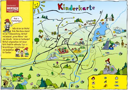 Karte Familiendorf Wertach